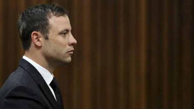 Pistorius looked straight ahead as a judge found him guilty of culpable homicide.
