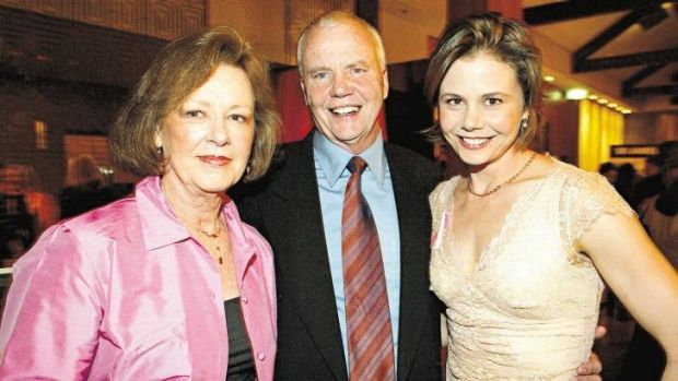 Janelle and Anthony Kidman with their daughter, Antonia.