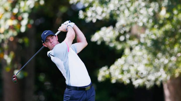 Hole in one: Rory McIlroy is well positioned at the Tour Championship.