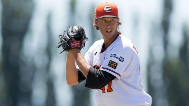 John Holdzkom playing for the Canberra Cavalry in 2013.