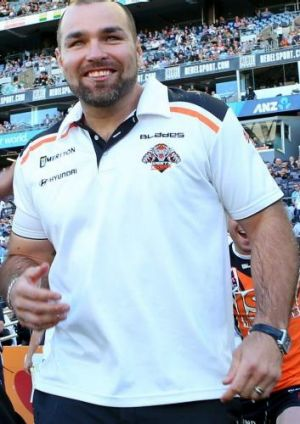 On the move: Wests Tigers assistant coach Todd Payten.