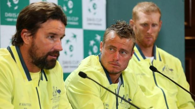 """Pat Rafter: """"I just see no relevance in playing Nick or Lleyton."""""""