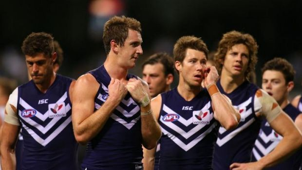 The Dockers let a 31-point first-half lead slip.
