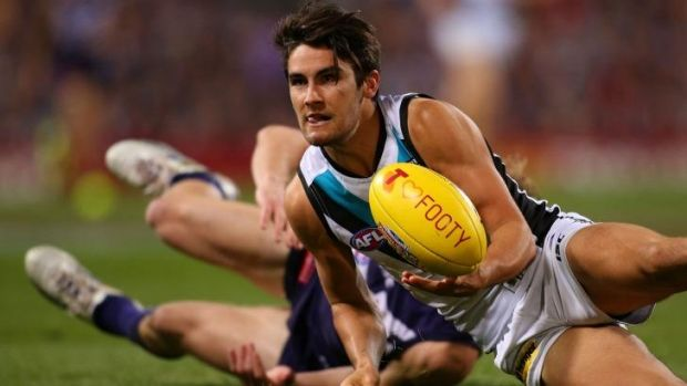 Chad Wingard is one of Port's small forwards whom Hawthorn will need to keep in check.