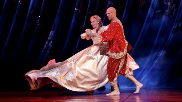 Orientalism criticised: Lisa McCune as Anna and Teddy Tahu Rhodes as the king in <i>The King and I</i>.