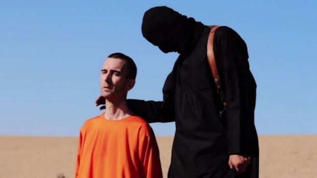 Direct message: Footage of British aid worked David Haines, who was executed by ISIS.