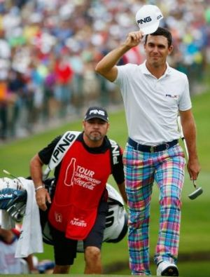Horschel shot 12 consecutive rounds in the 60s to take claim golf's biggest cheque.