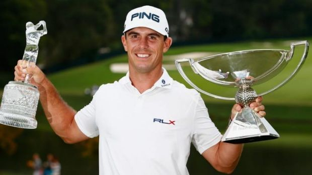 Mammoth payday: Billy Horschel  after winning both the Tour Championship and the FedEx Cup playoffs at the East Lake ...
