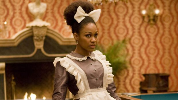 Daniele Watts in the film 'Django Unchained'.