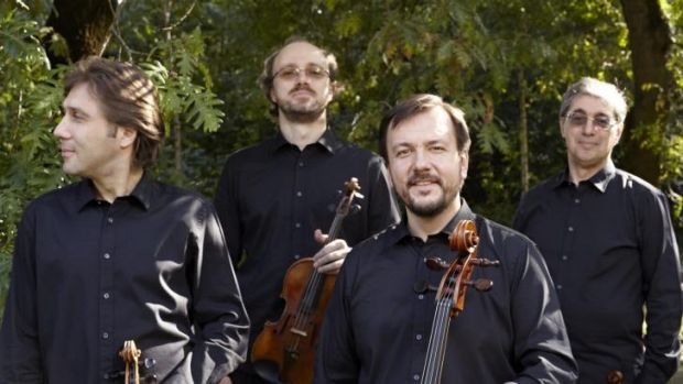 In harmony: The Borodin Quartet has acquired a new member, but it is business as usual.