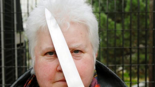 Dagger drawn: Crime novelist Val McDermid has a new book out.