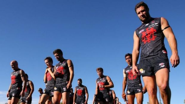 James Frawley (right) paid a visit to Fremantle last week.