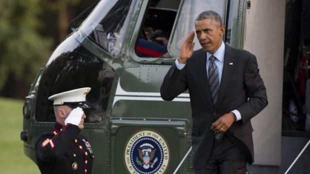 No specific plot: US President Barack Obama has pledged to 'degrade and destroy' the Islamic State.