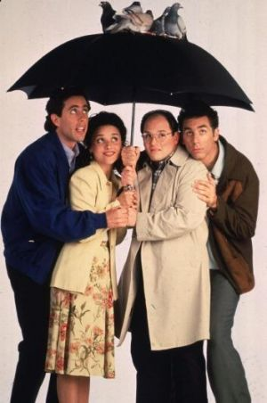 Yada-yada: Seinfeld featured both low and close talkers.