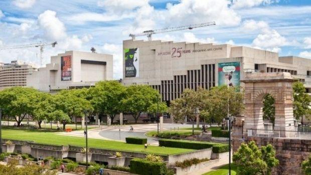 Queensland Performing Arts Centre, part of the Queensland Cultural Precinct.
