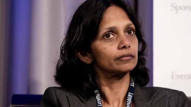 On the rise: Shemara Wikramanayake's division has reported higher profits.
