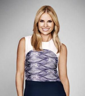 Watching from the sidelines: <i>Big Brother</i> host Sonia Kruger.
