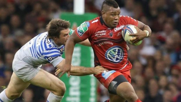 Steffon Armitage from England has made an impact representing Toulon in the French Top 14 competition.
