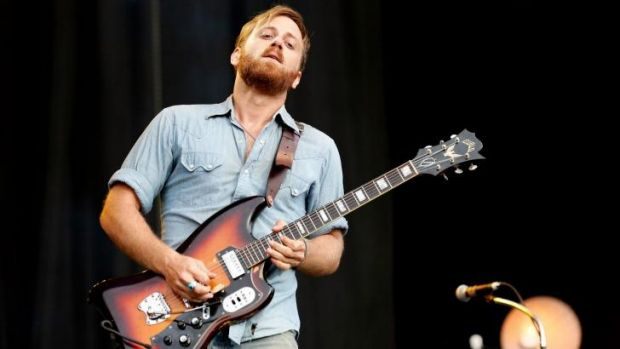 """""""It's in the blood for sure. I'm always thinking about music"""": Black Keys vocalist Dan Auerbach."""