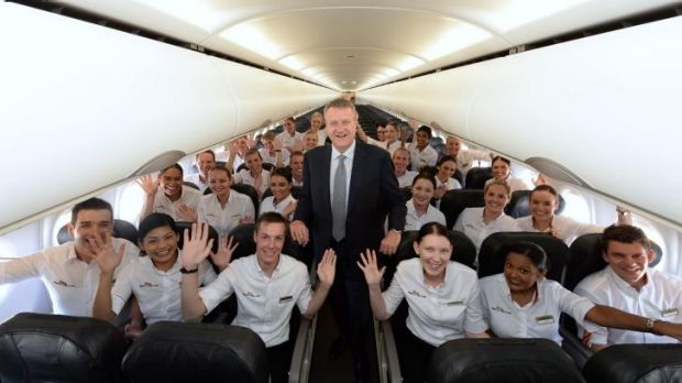 The Tigerair team, or part of it. They're now flying Brisbane-Darwin.