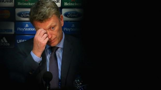 Out of his depth: former Manchester United manager David Moyes.
