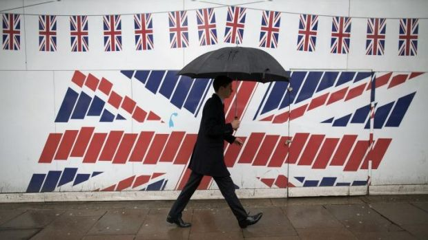 Union Jack jitters: A poll has shown 64 per cent of Britons support a change of flag if Scotland secedes.