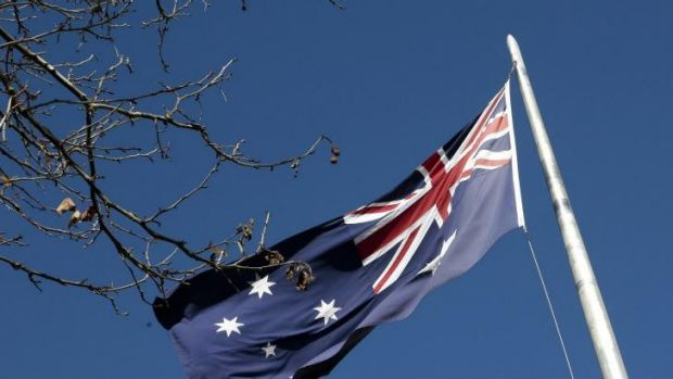 Outdated? The Australian flag.