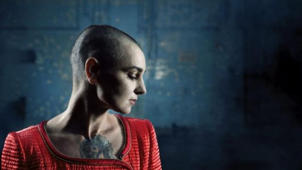 """A new direction: Sinead O'Connor has moved from """"writing from a painful place"""", with """"a whole lot of shit to get off my ..."""