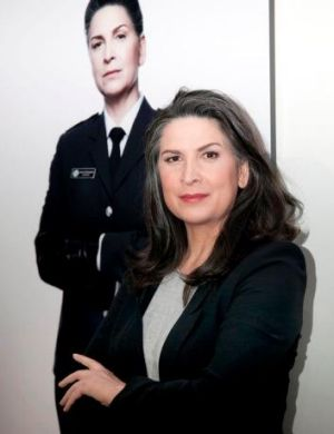 """A force of nature: Pamela Rabe plays  Joan """"The Freak"""" Ferguson in Wentworth."""