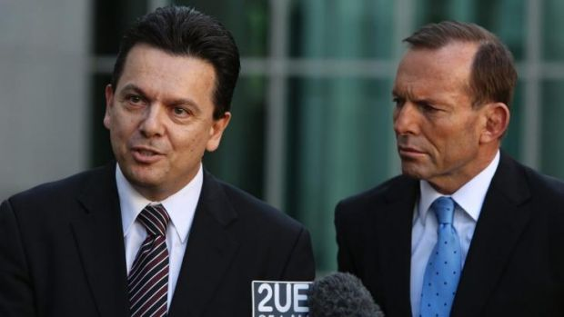 Independent Senator Nick Xenophon and Prime Minister Tony Abbott. Senator Xenophon has called for greater transparency ...