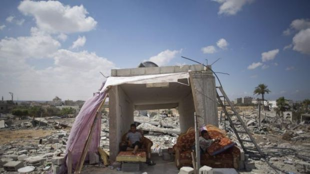 After a ruinous war, Gaza is now dealing with a housing shortage, which is pushing up rents.