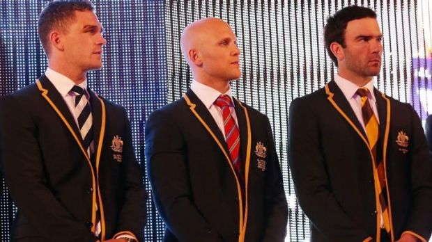 Joel Selwood, Gary Ablett and Jordan Lewis are named in the All Australian team on Tuesday.