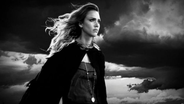 Stormy weather: Jessica Alba is in the ensemble  cast of <i>Sin City: A Dame to Kill For</i>.