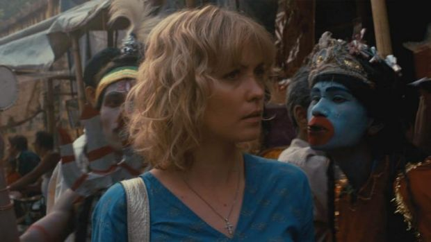 Indian odyssey: In 2009 Mitchell starred in Claire McCarthy's <i>The Waiting City</i>.