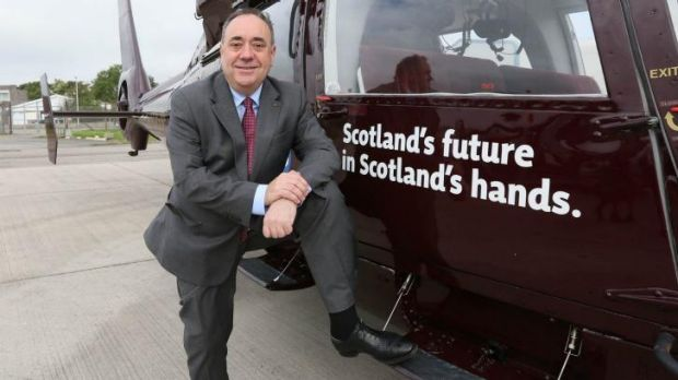 Scotland's First Minister and independence leader Alex Salmond.