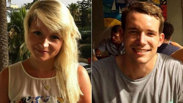 Hannah Witheridge and David Miller, British tourists killed in Thailand.