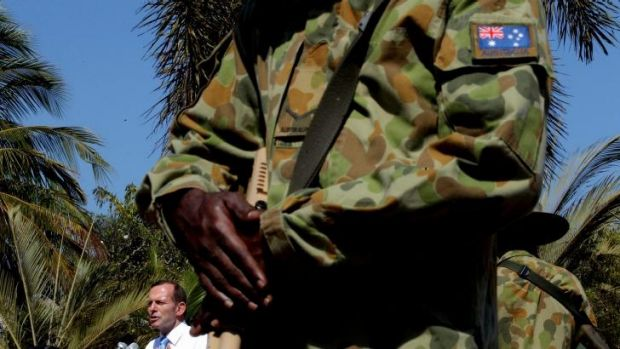 Prime Minister Tony Abbott has signalled he may not be able to return to Arnhem land after terrorism briefings in Sydney.