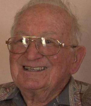 Blue and white blood: Club supporter and volunteer Alf Jennings.