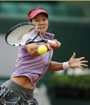 Runaway success: Li Na.