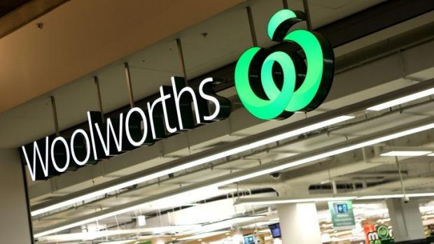 The cashier's actions have been defended by Woolworths.