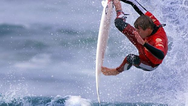 Surfing on the pro tour is as athletic as it is acrobatic.