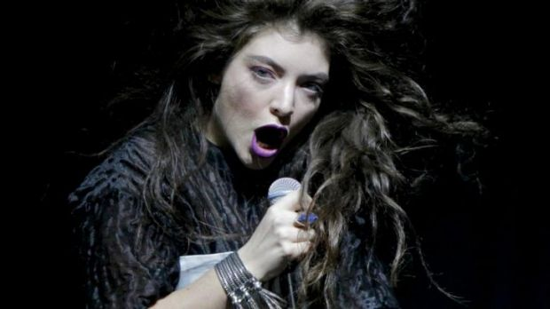 Lorde performing in Melbourne in July.
