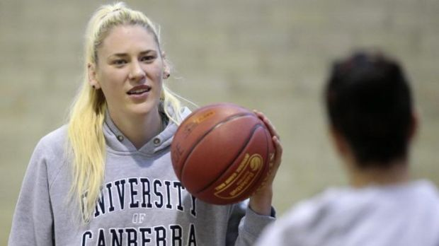 Lauren Jackson if confident she can return to her best after a horror run of injuries.