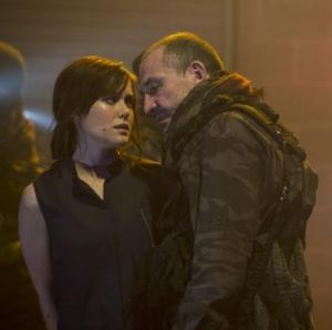 The Blacklist's Megan Boone thriving in a dark place