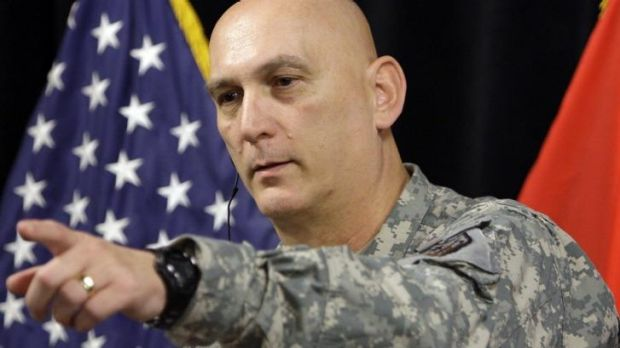 US Army chief of staff General Ray Odierno in Iraq in 2010.