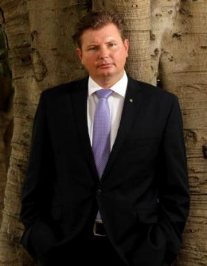 Change of heart: Liberal MP Craig Laundy, who says his first year in Parliament has been an education in reality versus ...