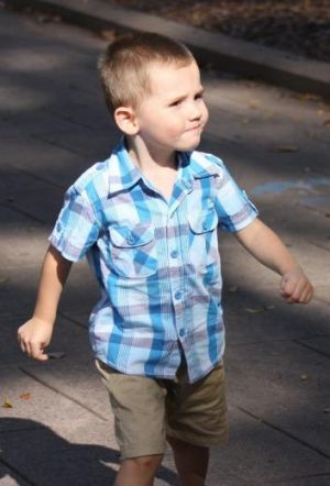 Missing without trace: Three-year-old William Tyrell.