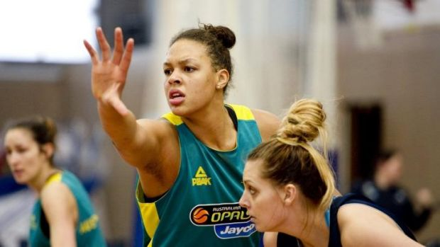 Liz Cambage: Ruled out for a year with injury.