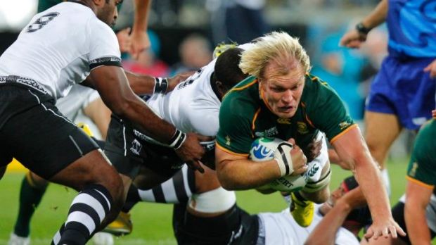 Tough competitor: South African enforcer Schalk Burger is an opponent not easily forgotten, says Phil Waugh.