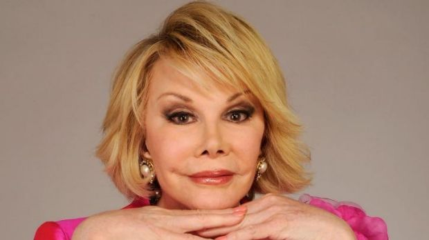 Sponsored posts promoting Apple products have appeared on the late Joan Rivers' social media accounts.